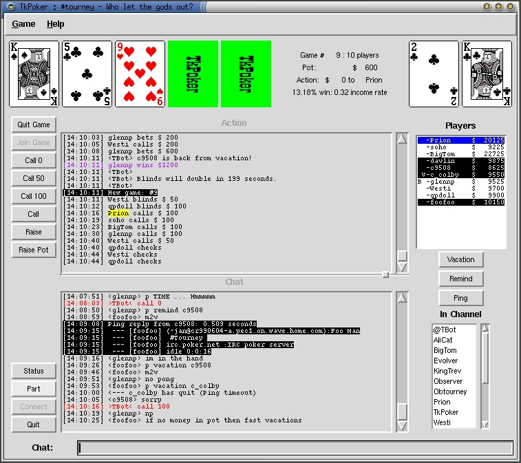 [Full size screen shot of TkPoker]